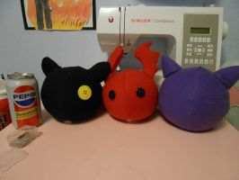 Digimon Plush WIP by NoxxBunny