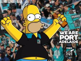 I AM PORT ADELAIDE, I mean, A PORT ADELAIDE FAN! by daanton