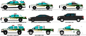 Fort Smith Police Department Marked Patrol Cars by scfdunit1