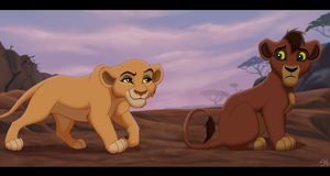 What if - Kiara and Kovu by TC-96