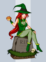 Elly the Witch by TheCatlady