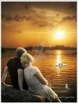 Romantic Sunset by 123654abang