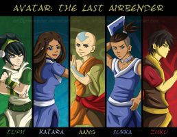 Avatar: The Last Airbender: United -Redux by GrimzyRaider