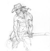 Stevie Ray Vaughan by arnistotle