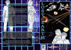 Lost Earth DVD Cover by Judan