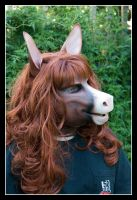 Horse Mask by BlueHyena