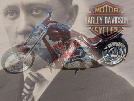 Harley-Davidson collage by Marylo-666