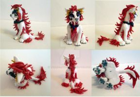 New AthineTora figurine multiview by TerraLove