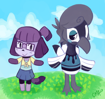 Nice Day for Animal Crossing (over) by FoxinRamen