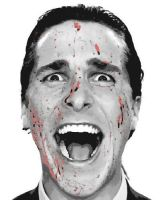 American Psycho Paint By Number Art Kit by numberedart