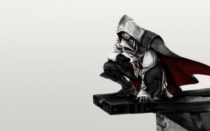 Assassin's creed Ezio by mannafig