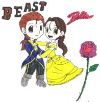 Belle and Beast by Vincent91