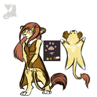 Lion Adopt by FrostbittenRuins