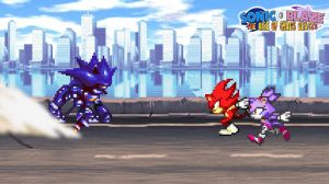 Battle #03 - Sonic and Blaze vs. Mecha Sonic by KingAsylus91