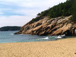 Sand Beach Granite by davincipoppalag