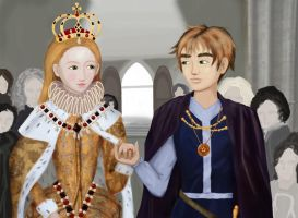 APH: Bess Marries a Country by RekkaNezumi