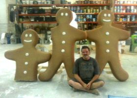 Gingerbread Men And Me by TimBakerFX
