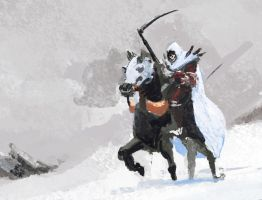 KAGE62: On a Black Horse by Hamsta180