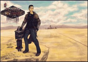 Fallout: New Vegas-  For Chris by napalmzonde