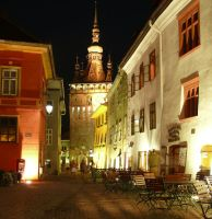 Sighisoara by night by lumixdmc850