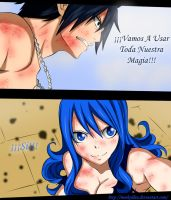 Gruvia |Fairy Tail Manga 321 by MArkoLdea