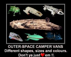Outer Space Camper Vans by DoctorWhoOne
