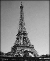 Eiffel Tower - relief by Rivenna