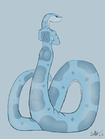 Big Squishy Snake by Naugahide