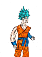 New Goku by Cupercrusader