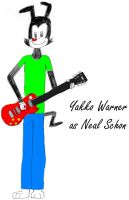 Yakko Warner as Neal Schon by Dorothy64116