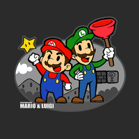 Mario and Luigi by ShandyRp