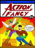 Action fancy by Lefthandedsock