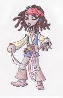 Jack Sparrow Caricature by Sevester