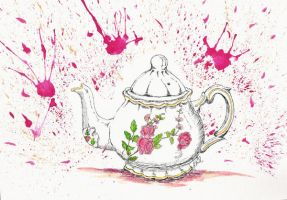 Bloody tea by Zluvka