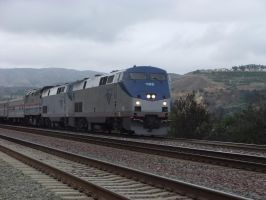 Amtrak Exhibit Train on the Southwest Chief by SouthwestChief