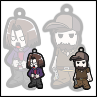 Game Grumps ~ If they were Phone Charms ~ by DivineJayce
