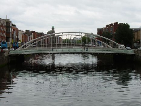 James Joyce Bridge by OhJolly