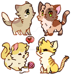 name your price cat adoptables by Iiqhte