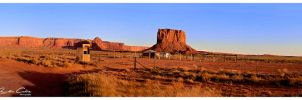 Monument Valley Gates by jaydoncabe