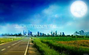 The Road To Nowhere 1920x1200 by markpaulkk