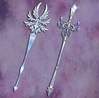 Custom Staffs by Forged-Artifacts