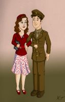 WWII Sparky AU - Happy 4th of July! by Lantis-Erin