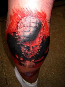 Pinhead by Tattoo Dave by ratdaddytattoo