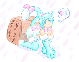 Gelato the Nekotyke-ABDL by RFSwitched