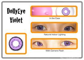DollyEye Violet Lenses by Stealthos-Aurion