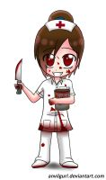 Psycho nurse by anvilgurl