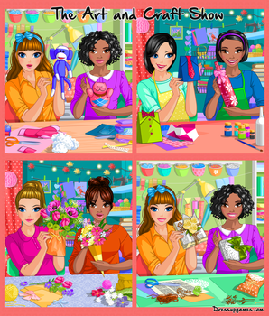 The Art and Craft Show Dress Up Game by DressUpGamescom