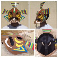Odolwa's Remains Mask by Xaveric