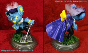 Luso the Shinx Sculpt by SleeplessTotodile