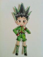 Gon paper child by blooming-shosho